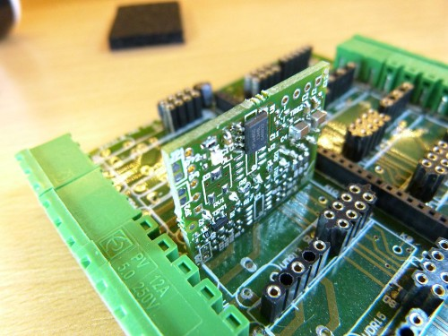 Archiduino - Base Board with a SnipCard fitted on