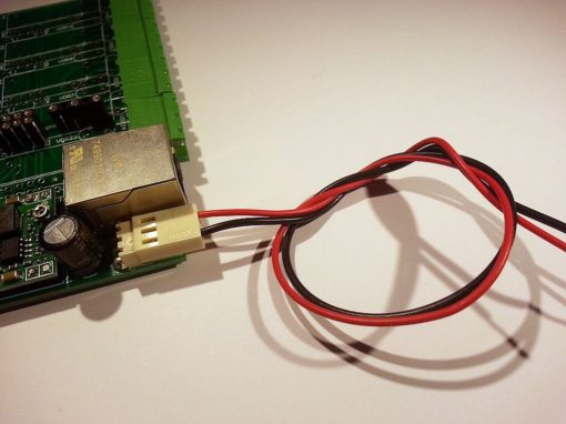 Archiduino - power supply cable - wiring example